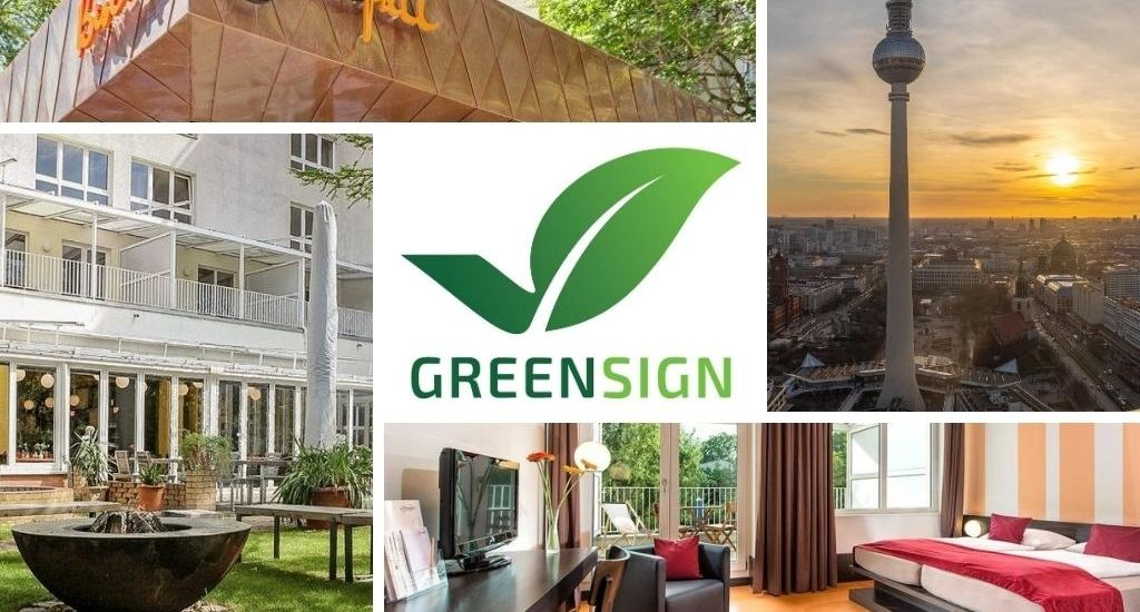 Hotel Grenzfall in Berlin erhält das GreenSign Siegel!